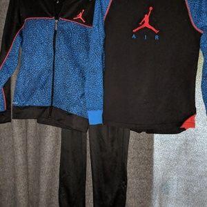Complete Set of jordan track suit